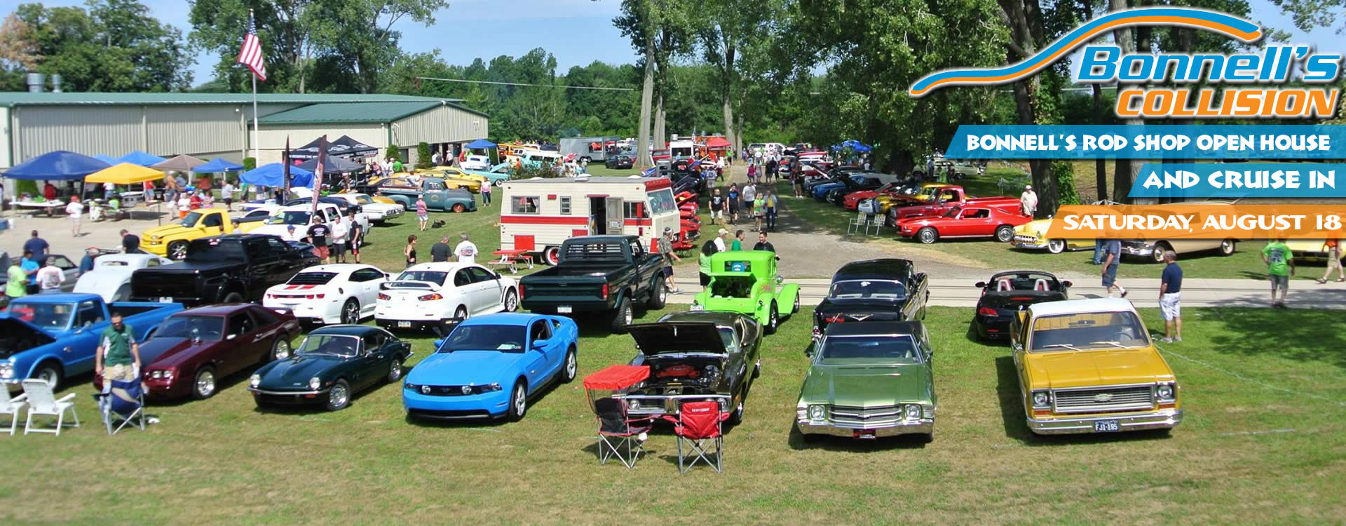 Bonnell\'s Rod Shop Open House and Car Cruise-In – Auto Racers For Kids
